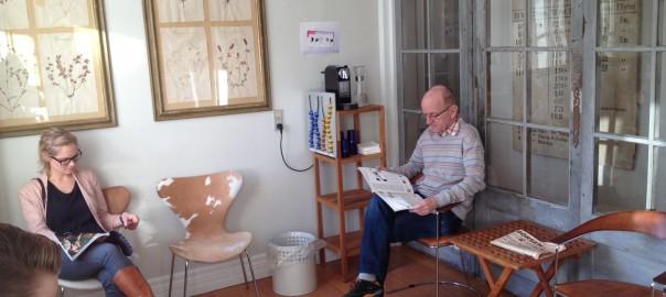 Venteværelse hos Lene Vognsen
